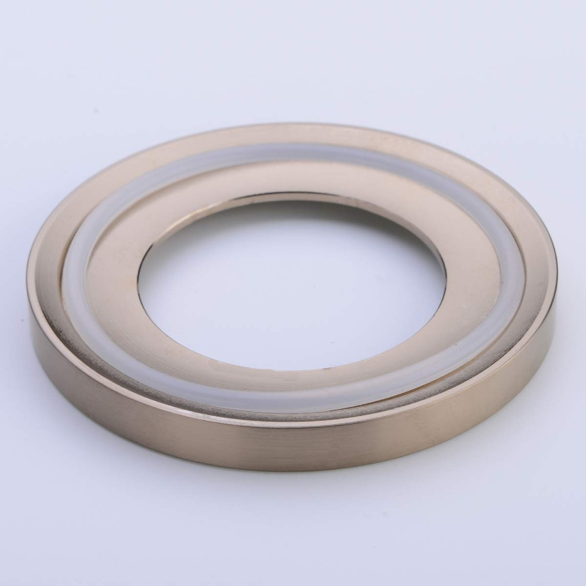 BESTILL Brass Bathroom Mounting Ring for Vessel Sink Matte Black