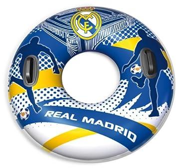 Real Madrid C.F. Unice 913002 - Flotador con asas, 90 cm: Amazon.es: Juguetes y juegos
