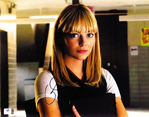 Emma Stone Signed Autographed 11X14 Photo The Amazing Spider-Man GV796771