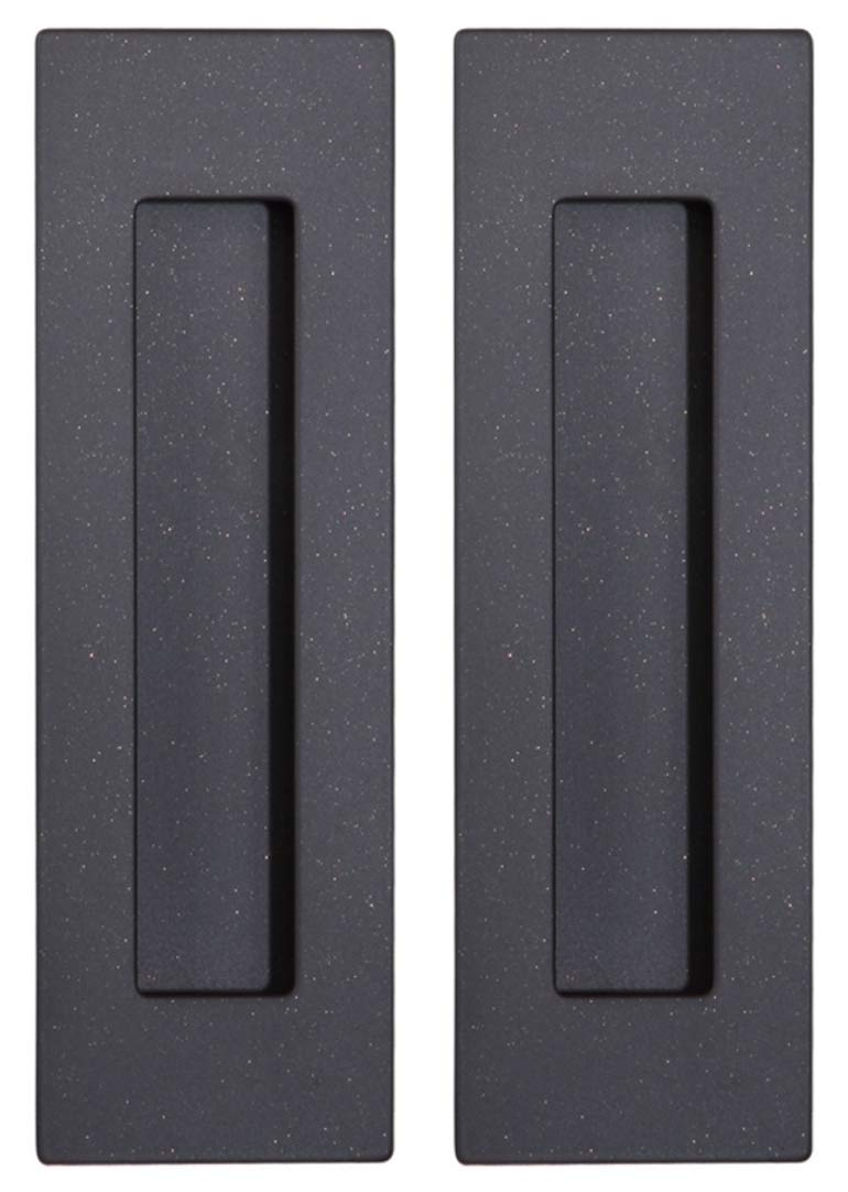 Sehrgut Flush Pull (2 Pack) 6'' Rectangular-Oil Rubbed Bronze, Free of Sharp Edge