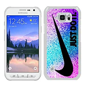 Beautiful Samsung Galaxy S6 Active Cover Case ,Newest And Durable Designed Case With Nike Just do it 49 White Samsung Galaxy S6 Active Case Unique And Cool Phone Case