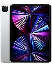 2021 Apple iPadPro (11cala, Wi-Fi + Cellular, 256GB) - srebrny (3. generacji)