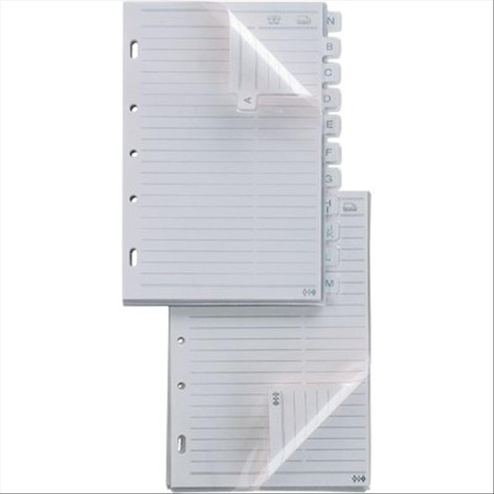 Sei Rota - Recambios Telex, hojas de agenda, 15 x 21 cm, 15 ...