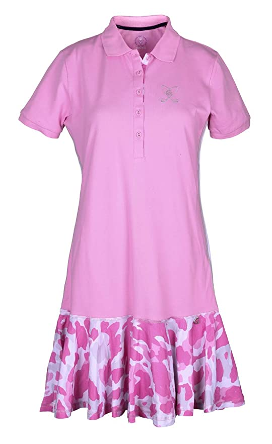 girls golf 14110 Rose - Polo para Mujer, diseño de Camuflaje ...