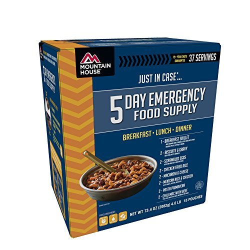 2 x Mountain House Just In Case 5-Day Emergency Food Supply