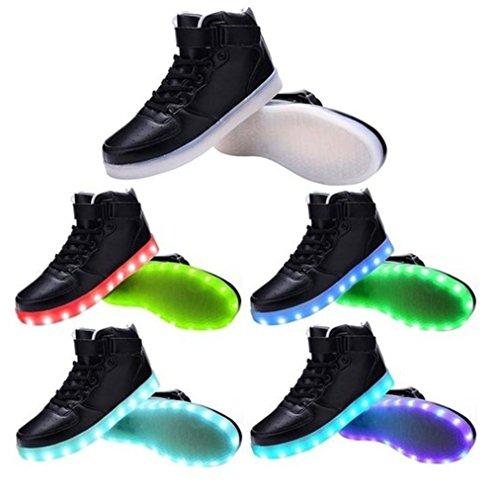 [Present:kleines Handtuch]JUNGLEST 7 Farben LED Kinder, Jungen, Mädchen führte leuchten Trainer Sneakers Turnschuhe Sportschuh c16