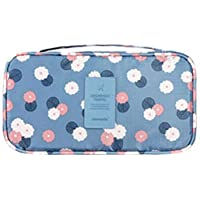 Bluefringe Waterproof & Multifunction Organizer Women's Travel Bag (Blue)