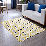 Hyun times Carpet geometric living room coffee table sofa bedroom model abstract Nordic mats ( Color : C , Size : 120160cm )