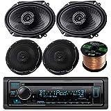 Kenwood Single DIN Bluetooth in-Dash CD/AM/FM Car