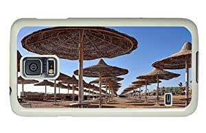 Hipster sell Samsung Galaxy S5 Cases Beach Sunshades PC White for Samsung S5