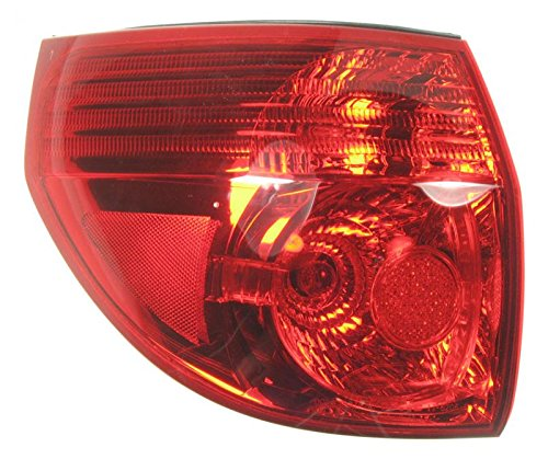 Taillight Taillamp Rear Brake Light Driver Side Left LH for 06-10 Sienna (Driver Toyota Sienna)