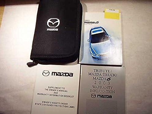 2003 mazda 6 owners manual mazda amazon com books rh amazon com 2003 mazda 6 owners manual pdf 2004 mazda 6 owners manual