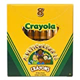 SCBBIN080W-19 - MULTICULTURAL CRAYONS LARGE 8PK pack of 19
