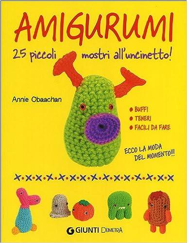 Amazonit Amigurumi 25 Piccoli Mostri Alluncinetto Annie