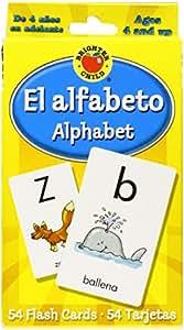 Amazon.com: El alfabeto Flash Cards: Alphabet: Brighter Child: Toys