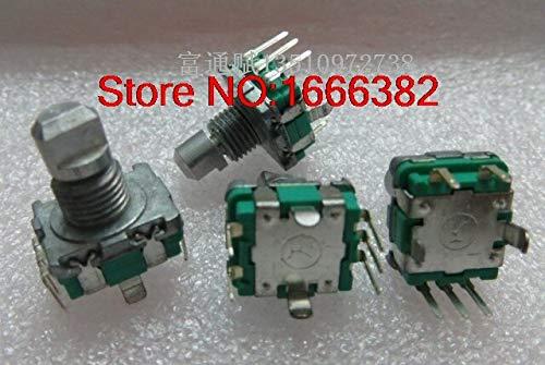 Jammas Import EC11-20 bit with switch encoder 11mm half-axis encoder volume potentiometer switch - (Standard: Other)