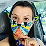 MA_SK! Stylish Anti-dust Mouth Face_mask_ Adult Protect Covering Bandana Unisex Reusable Washable Shi_led Elf Ears Cosplay Halloween Party Props