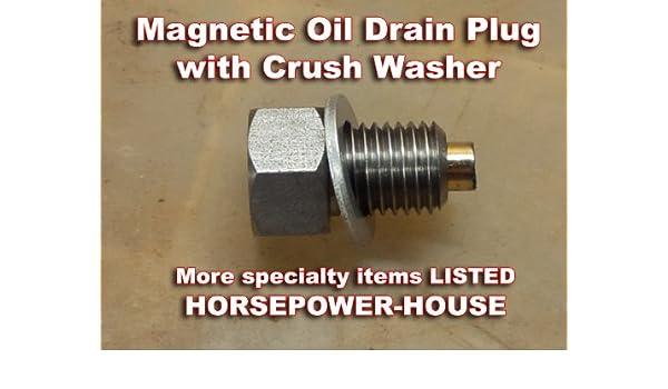 CC Magnetic Oil Drain Plug with Washer Honda CBR 600 F 1999