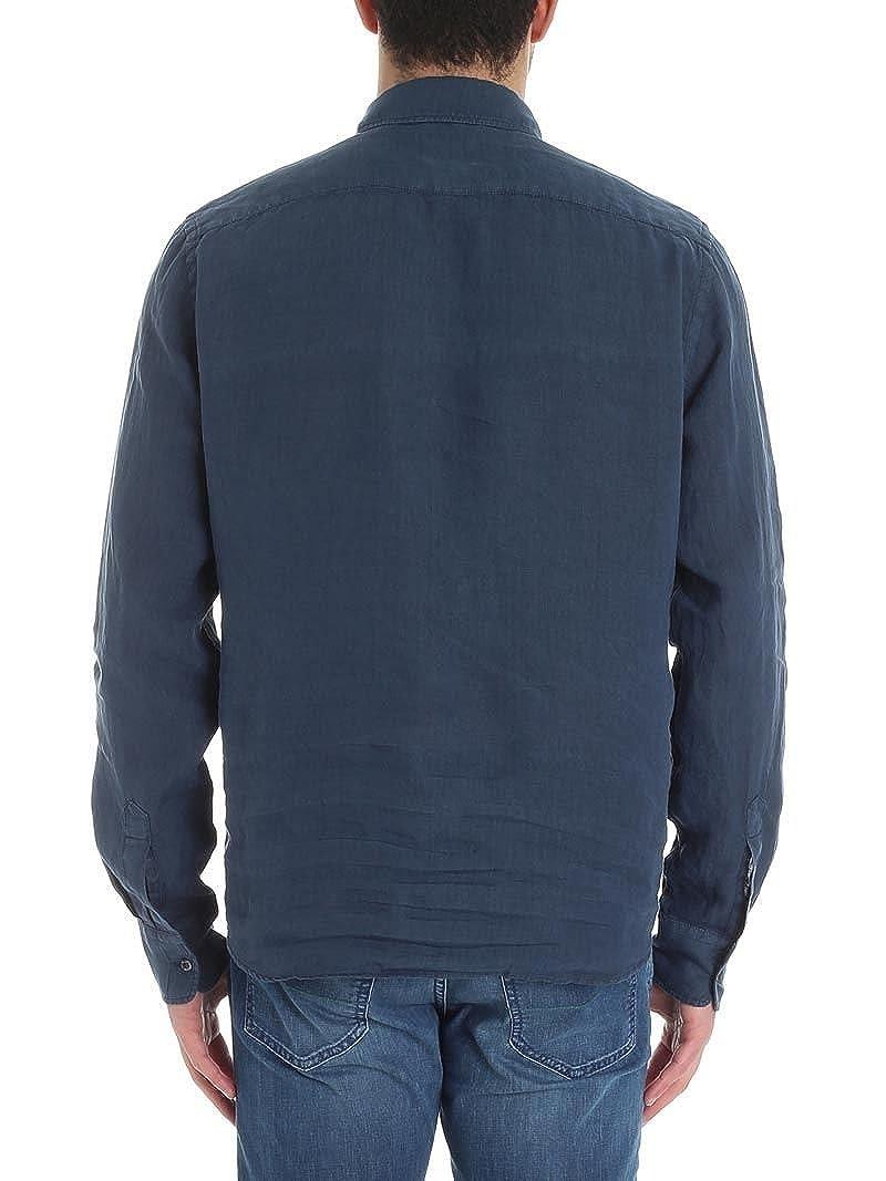 Aspesi Homme CE66C195TL85098 Bleu Lin Polo  Amazon.fr  Vêtements et  accessoires c8f1d729e961