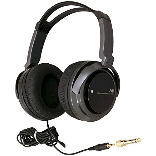 JVC HARX300 Full-Size Headphones, Black
