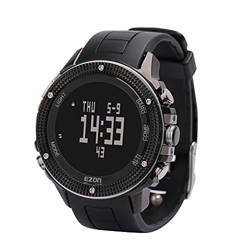 Ezon H501A01 hiking outdoor sport watch with compass altimeter barometer stopwatch function by EZON