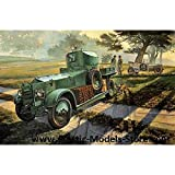 rolls royce model kits - ROLLS ROYCE BRITISH ARMOURED CAR 1920 1/35 RODEN 801