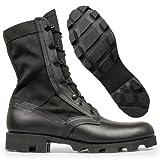 Altama Footwear Men's Jungle Boot 6853 Boots,Black Leather / Cordura Nylon,10.5 W US
