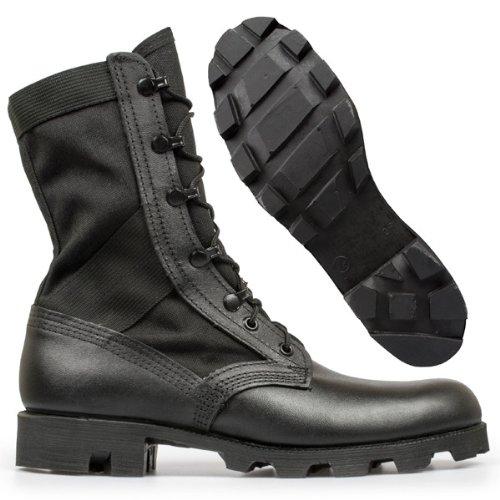 72368ee4d03dc Altama Footwear Men's Jungle Boot 6853 Boots,Black Leather/Cordura Nylon,4 M