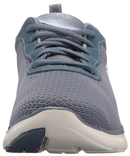 0 2 Sneaker 5 newsmaker Appeal Flex 35 Basse Donna Skechers Eu Grigio qwa1t4cH