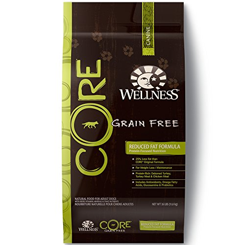 (Wellness CORE Natural Grain Free Dry Dog Food, Reduced Fat, 26-Pound Bag)