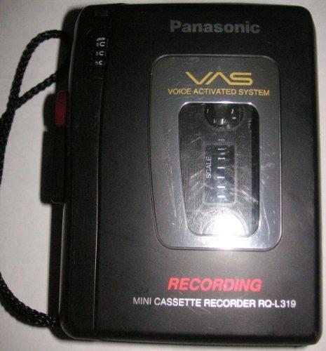 Panasonic Cassette Recorder RQ-L319 by Panasonic