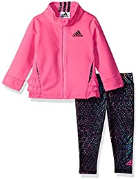 Baby Girls Tricot Jacket and Tight Set