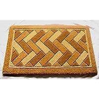 Geocrafts Imperial Geometric Doormat, 18 x 30-Inch