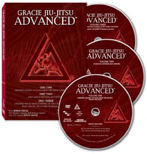 Gracie Jiu-Jitsu Advanced - 3 Disc DVD Set