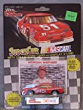 1991 NASCAR Racing Champions . . . Morgan Shepherd #15 Motorcraft Ford Thunderbird 1/64 Diecast . . . Includes Collector's Card and Display Stand