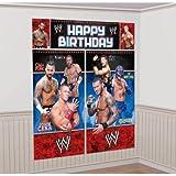 WWE Wrestling Giant Scene Setter Wall Decorating Kit (5pc)