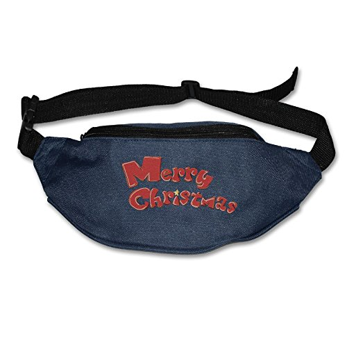 Target Australia Christmas - Merry Christmas Mens&Womens Travel Funny Waist Pack Sling Pocket Super Lightweight For Running And Cycling Navy One Size