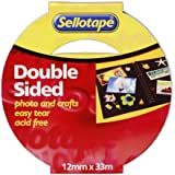 Sellotape Double Sided Tape - 12 mm x 33 m