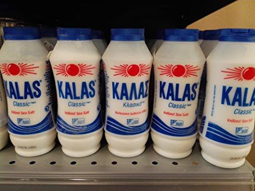 50 Pcs X BOTLE GREEK SALT KALAS 400g FROM GREECE by KALAS
