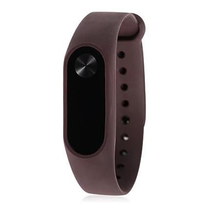 Armband reloj de pulsera brazalete para Xiaomi Mi Band 2 Nueva original Silicon TPU Blando correa