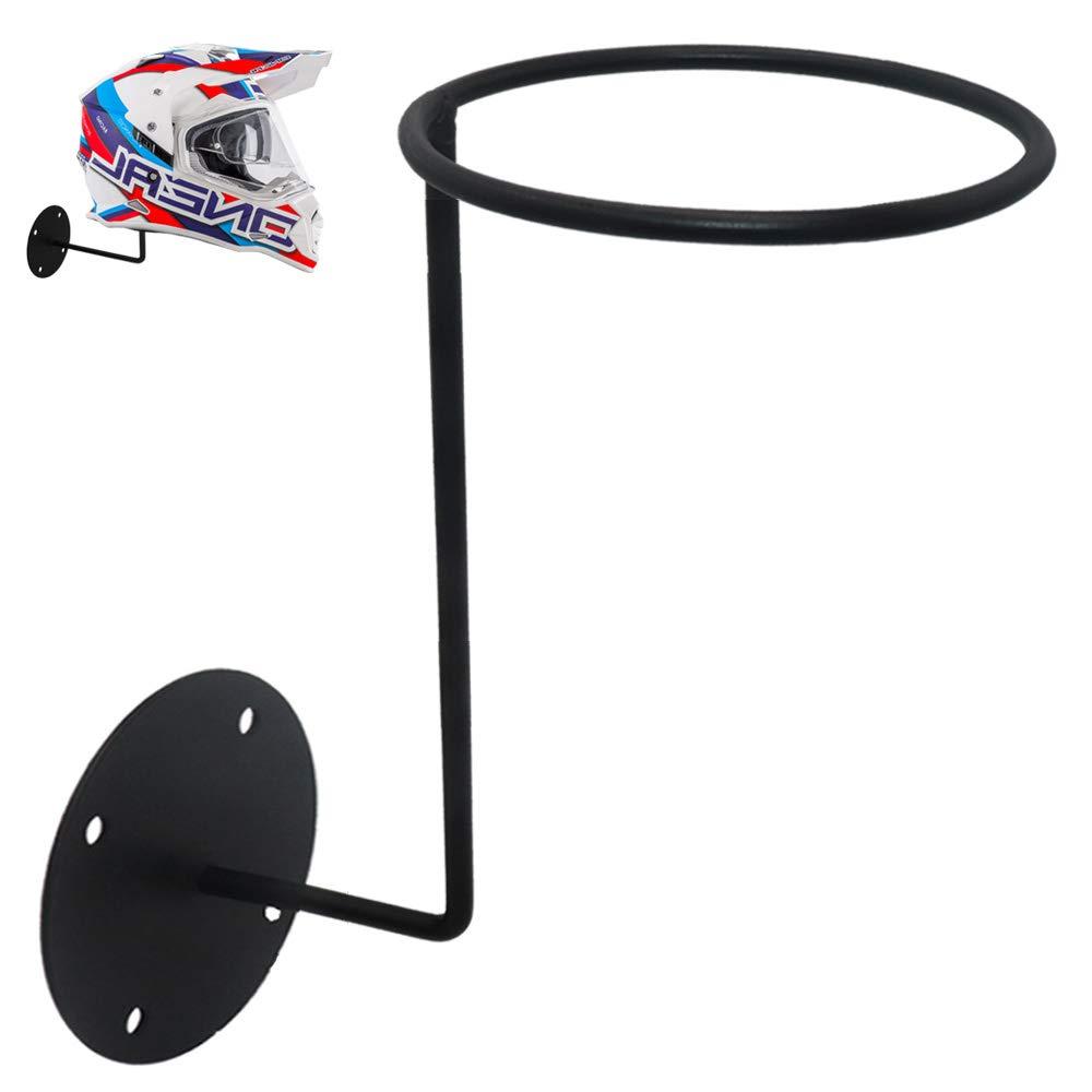 Motorcycle Accessories,LECAMEBOR Helmet Holder Helmet Hanger Rack Wall Mounted Hook for Coats, Hats, Caps-Great Gift Idea by LECAMEBOR