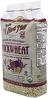 product image for Bob's Red Mill Organic Gluten Free Buckwheat Groats, 16 Ounce (Pack of 4)
