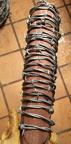 Negan's Lucille barbed wire wrapped bat replica from The Walking Dead]()