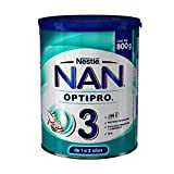 Nestle Nan Fórmula Infantil 3 Optipro, 800gr, Pack of 1
