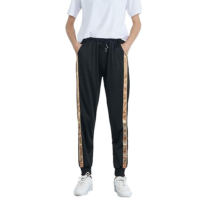 205c04fb00 Longra Pantalones Deportivos de la Raya de la Cintura Media de Las Mujeres Calientes  Pantalones de los Pantalones de Harem de Las Mujeres Calientes de la ...