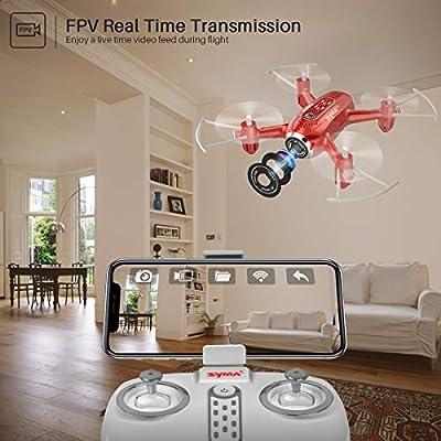 Syma X22W Drone for Kids, 2 Batteries
