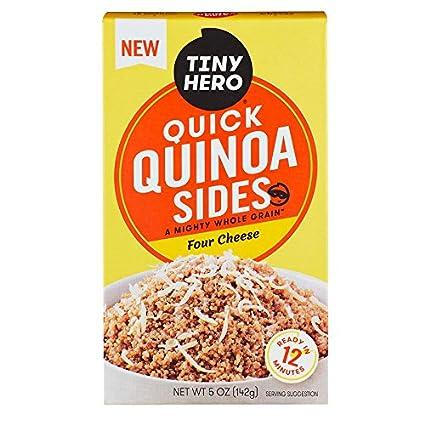 Tiny Hero Quick Quinoa - Bolsas de queso: Amazon.com ...