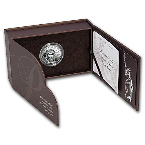 (2015 W 1 oz Proof Platinum American Eagle (w/Box & COA) 1 OZ Brilliant Uncirculated)