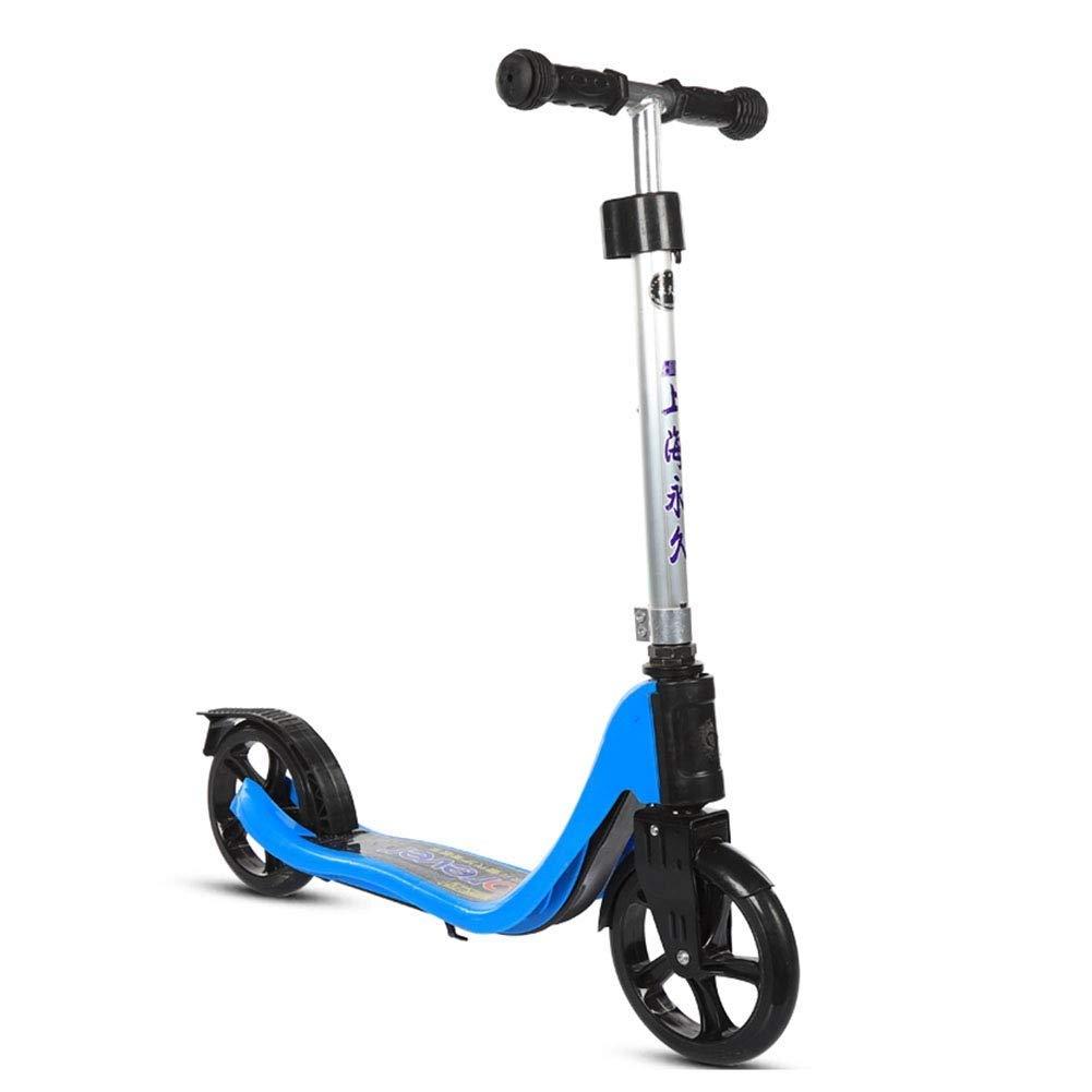 日本限定 スクーターを蹴る子供たち 青 大人のスクーター (色、ティーンエイジャーのスクーター、キックスクーター (色 青) : 青) B07R5X2TMZ 青, emury:0669f5ce --- 4x4.lt