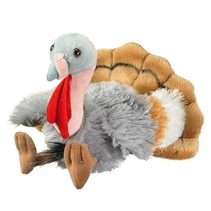 Amazon Com Turkey Stuffed Animal Plush Toy 8 By Wildlife Artists